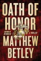 Go to record Oath of honor : a thriller